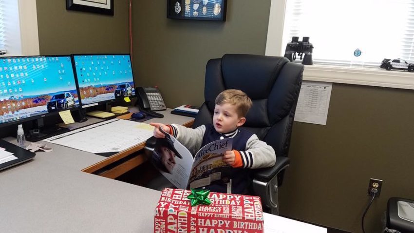 N.H. police surprise boy who gave officers treats in lieu of receiving birthday presents