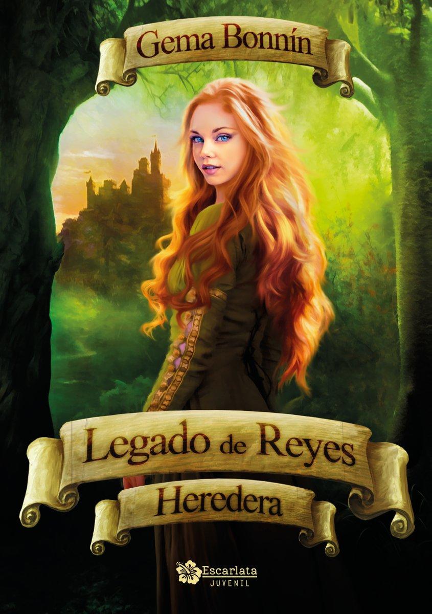 Legado de Reyes: Heredera, nueva novela de Gema Bonnín