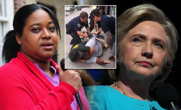 'Why would you use my dad?' — Erica Garner blasts Clinton campaign over staffers' discussions in WikiLeaks emailshttps://t.co/qcorwiur16