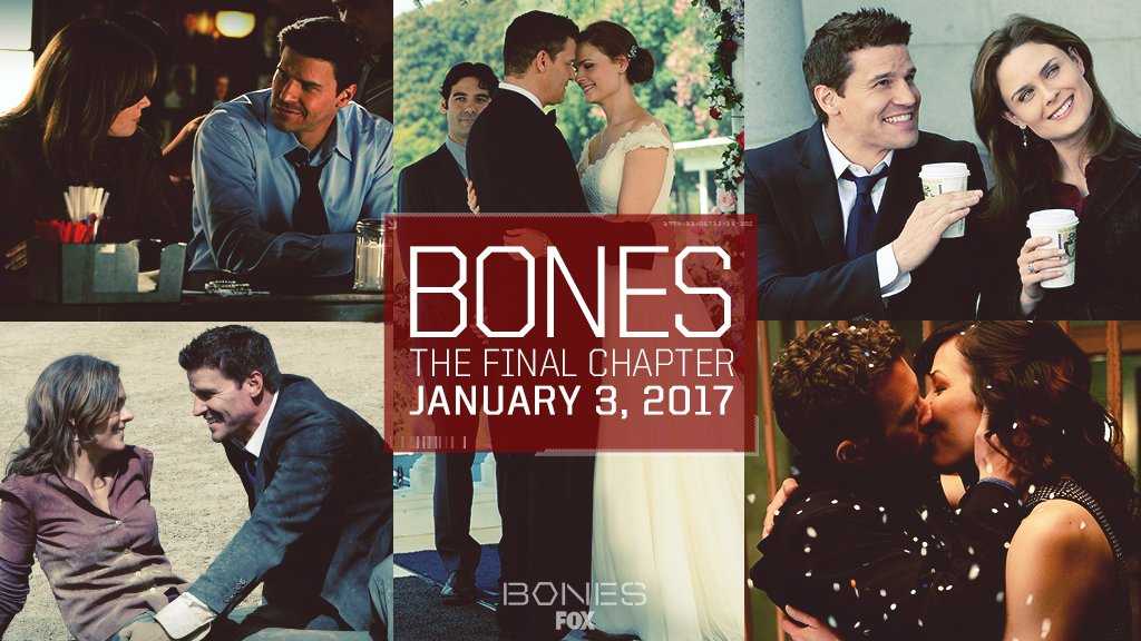 Celebrate the memories and create new ones. The final chapter of #Bones begins January 3. https://t.co/LTpasROH8p