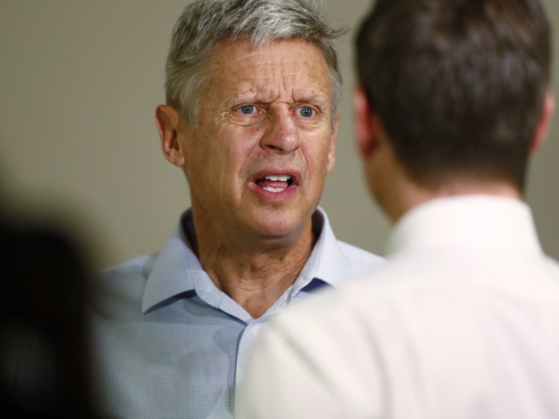 Gary Johnson insists that he's 'not a dummy' in contentious interview about tax policy and polls https://t.co/BDqyPD35y7
