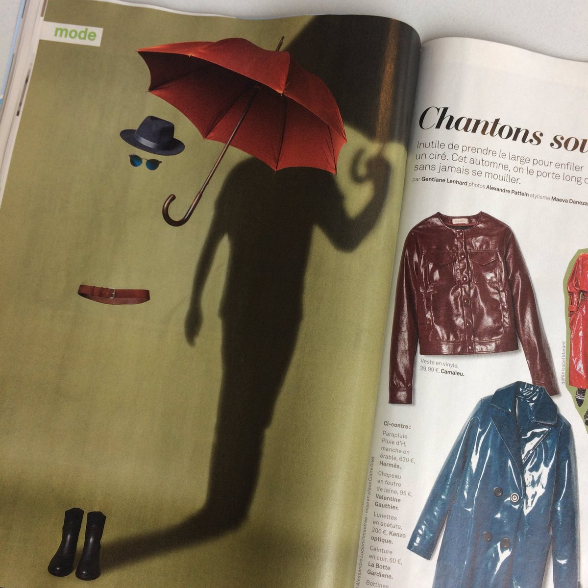 Magritte es-tu là ? #fun #leparisienmag #hermes sous la pluie.pic.twitter.com/Fu994pazyn