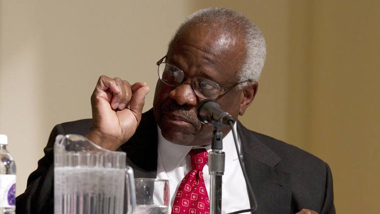 Supreme Court Justice Thomas accused of groping woman at a 1999 dinner party