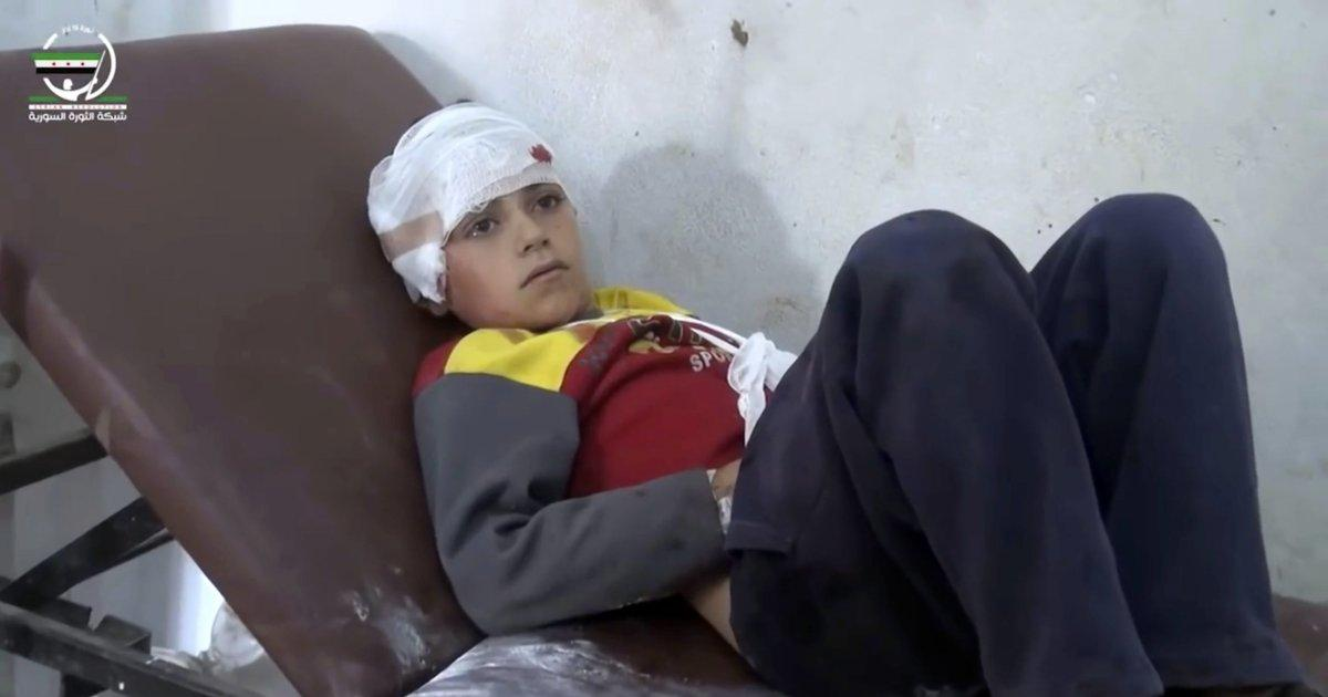 UN says school attack that killed 22 Syrian children may be a war crime