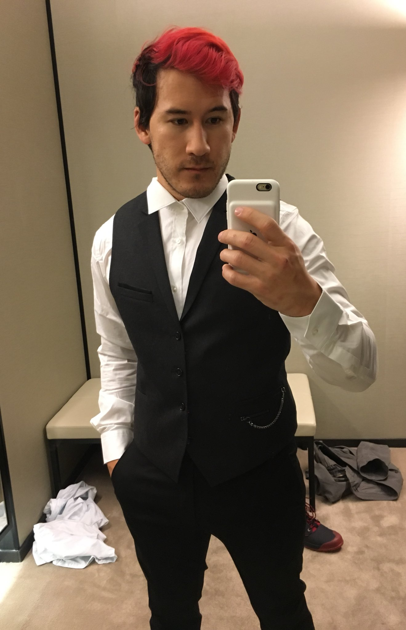 """Markiplier on Twitter: """"Outfit check: yes/no?… Markiplier Twitter"""