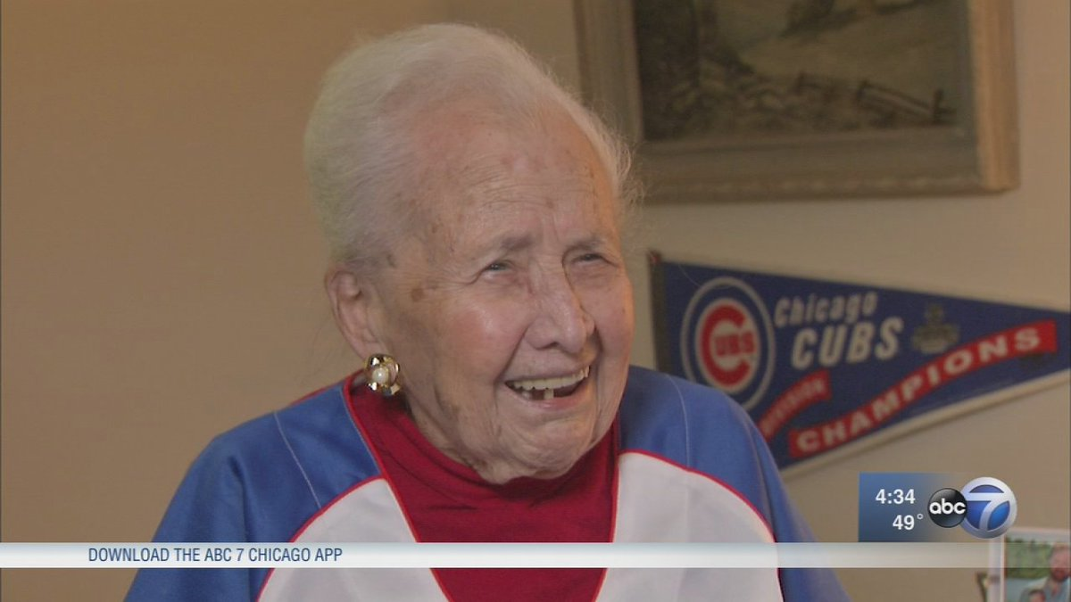 108-year-old Cubs fan ready to see team win it all...