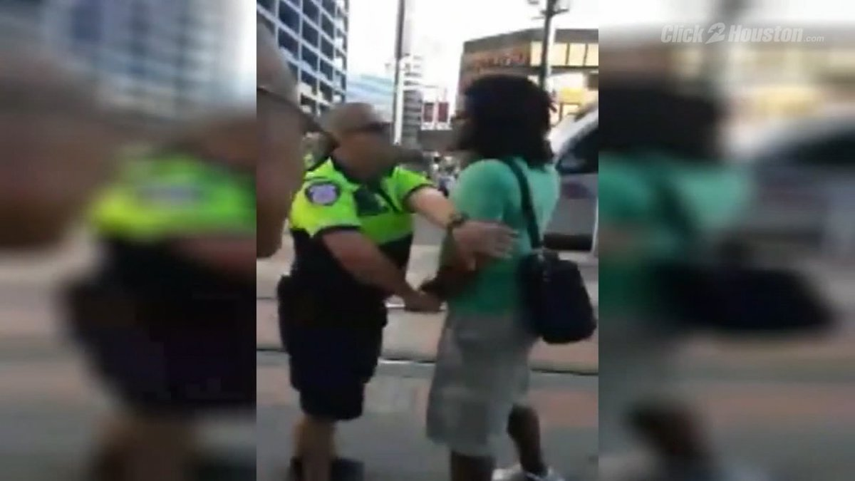 Black Lives Matter activist claims unfair treatment by METRO officer kprc2