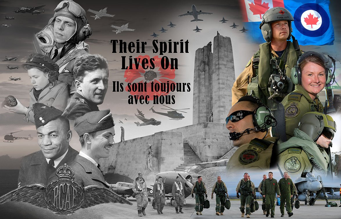Their spirit lives on: Today and every day, #RememberThem #RCAF