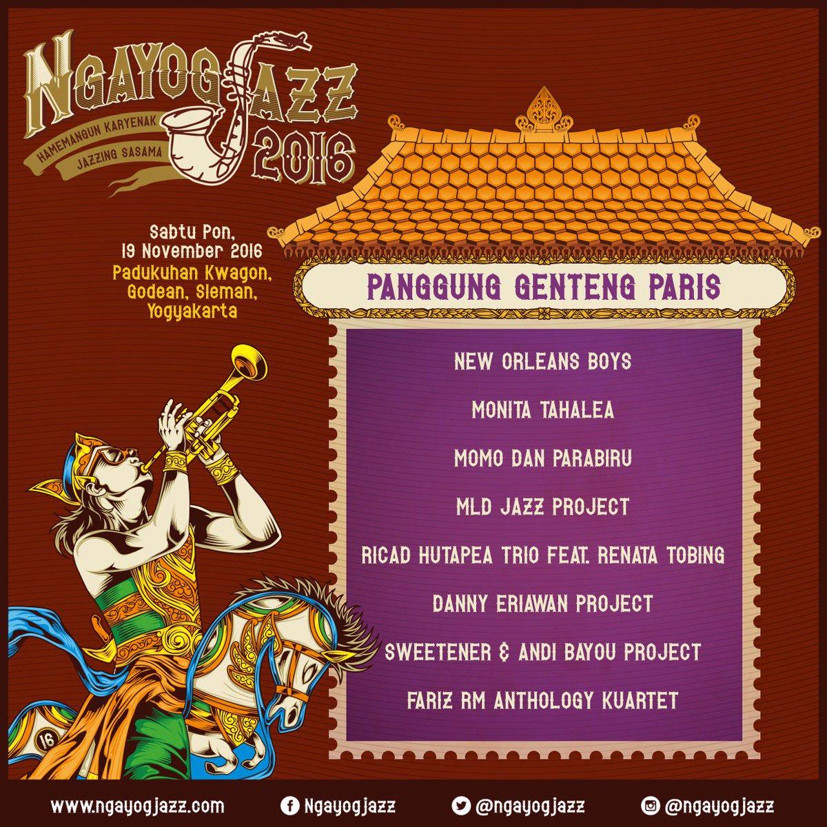Ngayogjazz Festival 2016 Bikin Malam Minggu di Yogyakarta Makin Syahdu