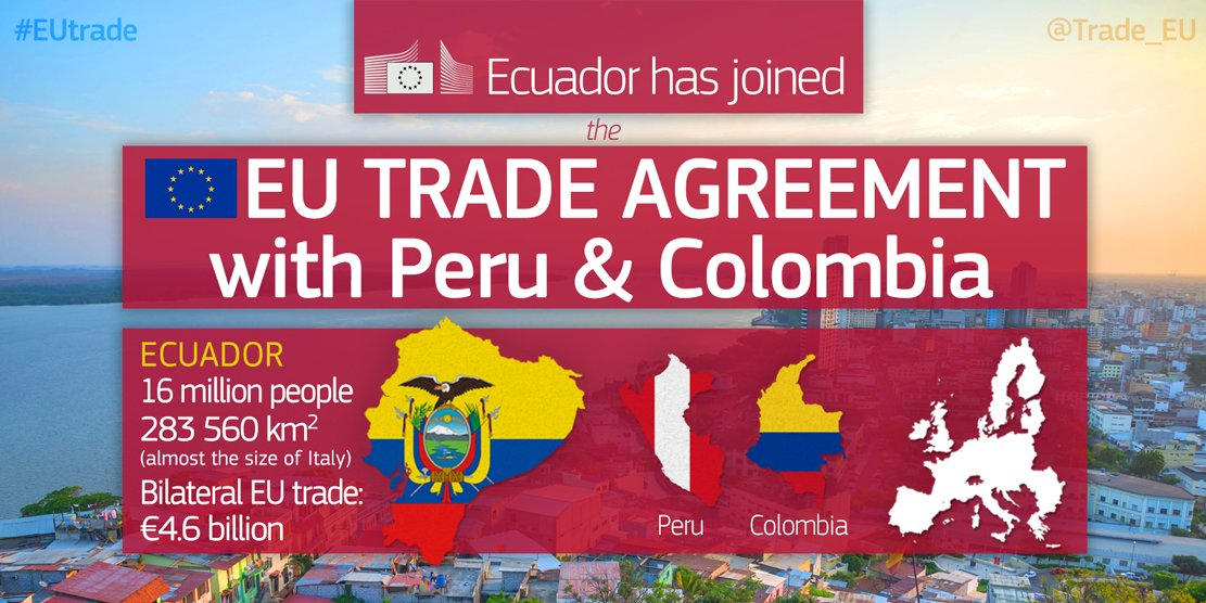 Eu Trade On Twitter Ecuador Has Joined Our