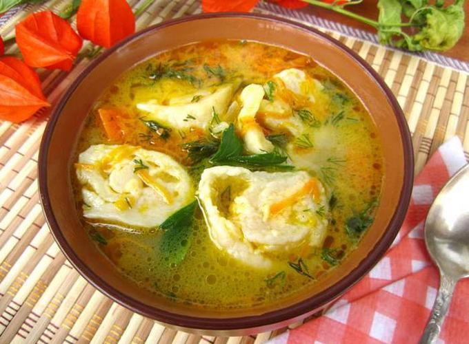 Куриный суп рецепт с грибами