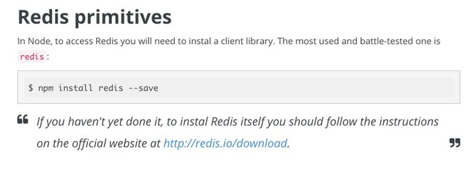 : using Redis for Fun and Profitnodejs news redis tutorial database