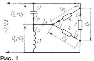 Трехфазные подключения электродвигателей схема