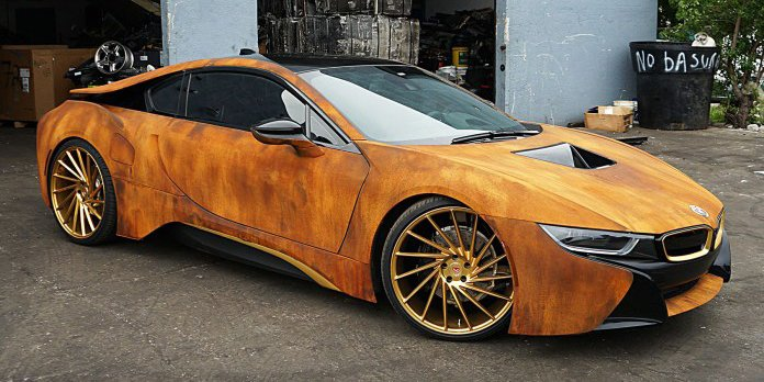 BMW I8 Custom >> Hypebeast On Twitter This Customized Bmw I8 Features A
