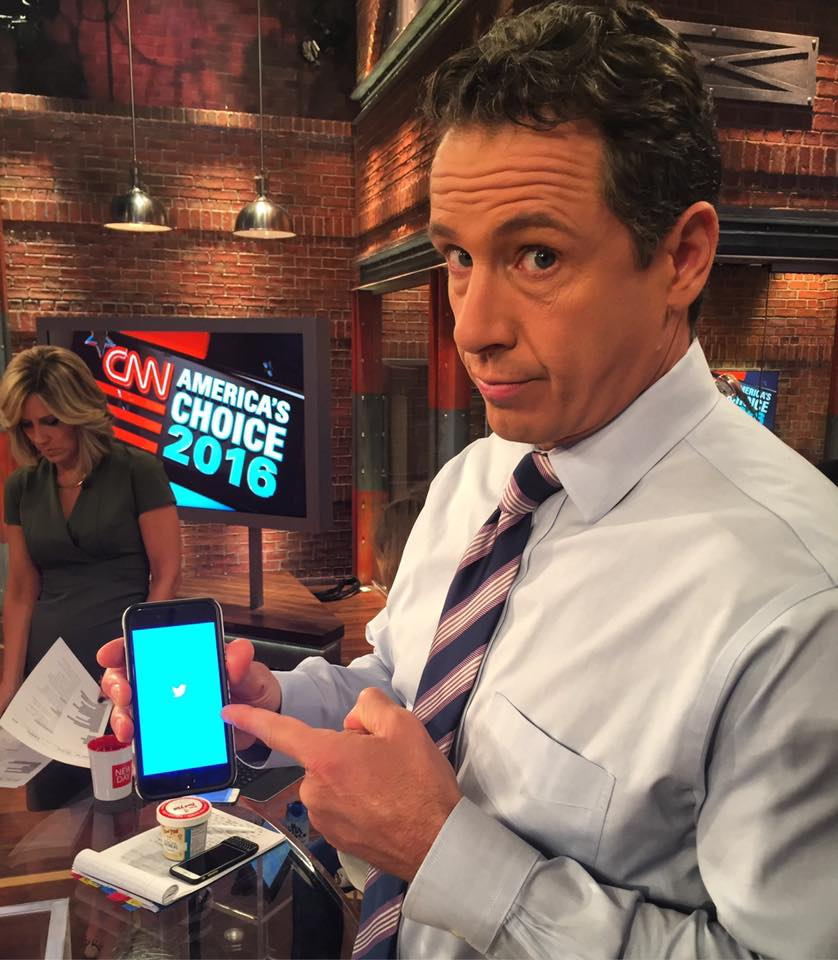 """Chris Cuomo: Christopher C. Cuomo On Twitter: """"He's Tweeting Again And"""