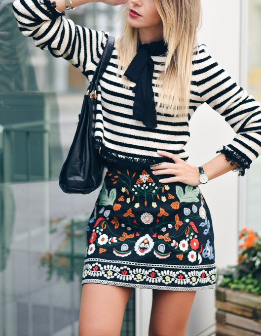 Mix Prints via Ma Petite by Ana MaPetitebyAna ootd