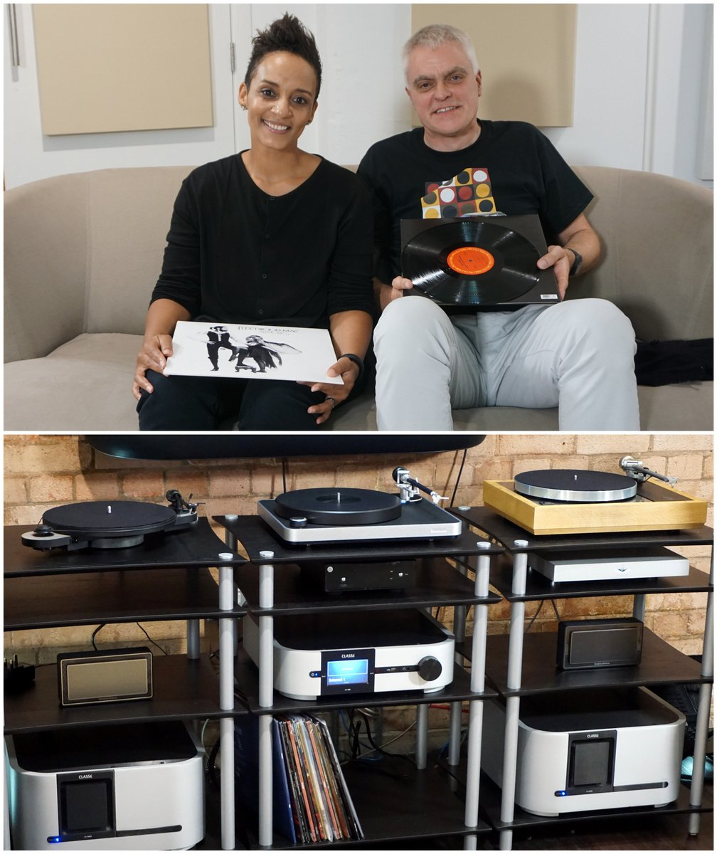 In tonight's @TheGadgetShow 7pm C5 I test seriously good turntables with the splendid @AdeleRoberts from @BBCR1 https://t.co/fLdqJY9hFP