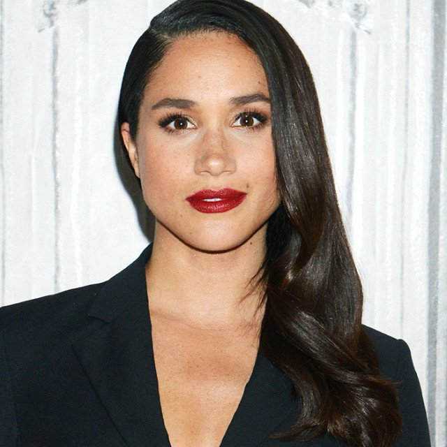 FRIDAY Girl Crush Meghan Markle we LOVE this shade! try lipstick beauty skincare