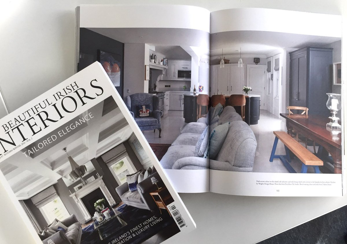 wrights design house on twitter big thanks to beautiful irish interiors for this amazing feature on one of our iconic 50th anniversary kitchens kitchendesign pic twitter com pasv6m6kpx