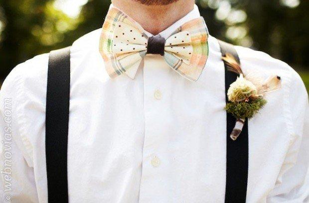 Fabrica tu mismo la pajarita para el da de la boda! Un DIY sper fcil y econmico.