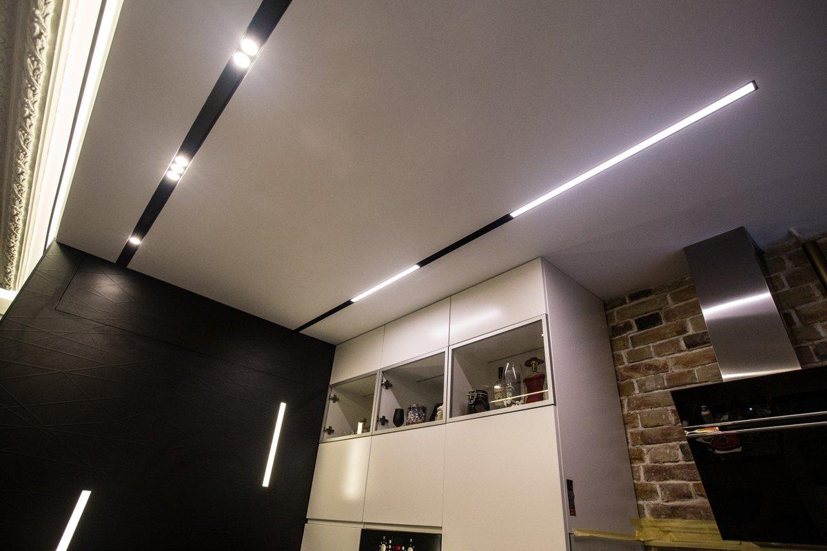 потолочные ниши с подсветкой