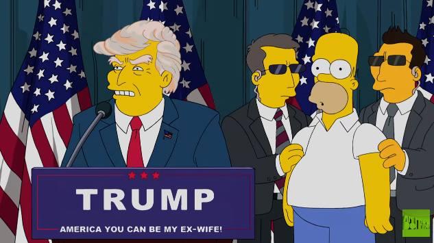 Vitória de Donald Trump nos EUA foi prevista por 'Os Simpsons' há 16 anos https://t.co/zRepuO1b4y