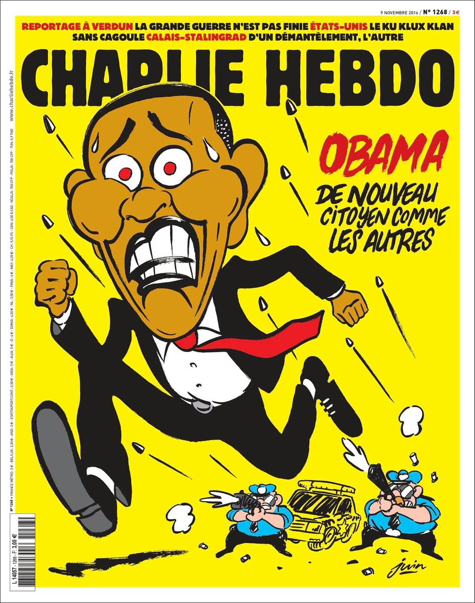 Charlie Hebdo Perfectly Captures What So Many Americans Are Feeling