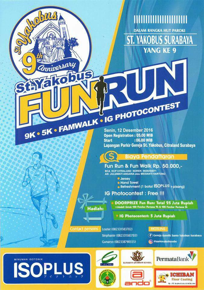 St. Yakobus Fun Run