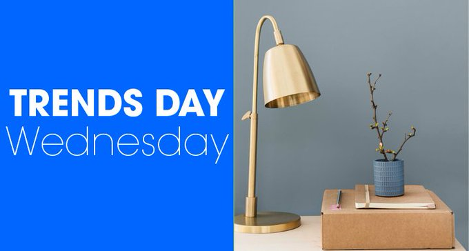 Check out this week's trend! decorating home colour DIY shopping accessories