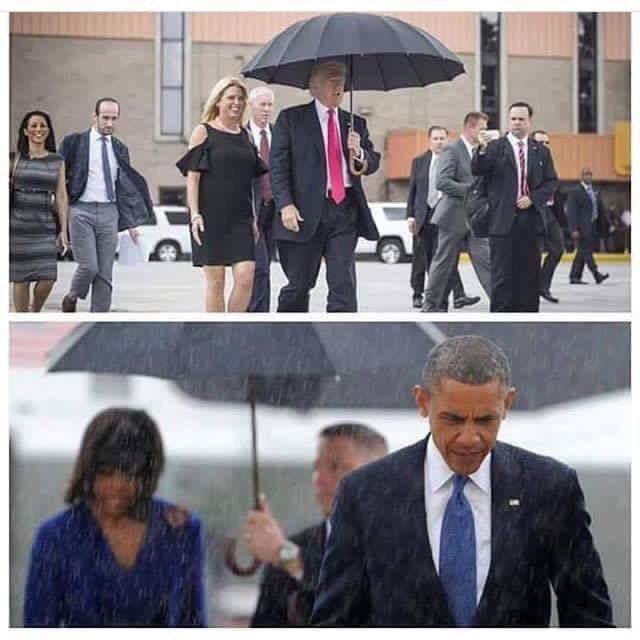 トランプとオバマの差…