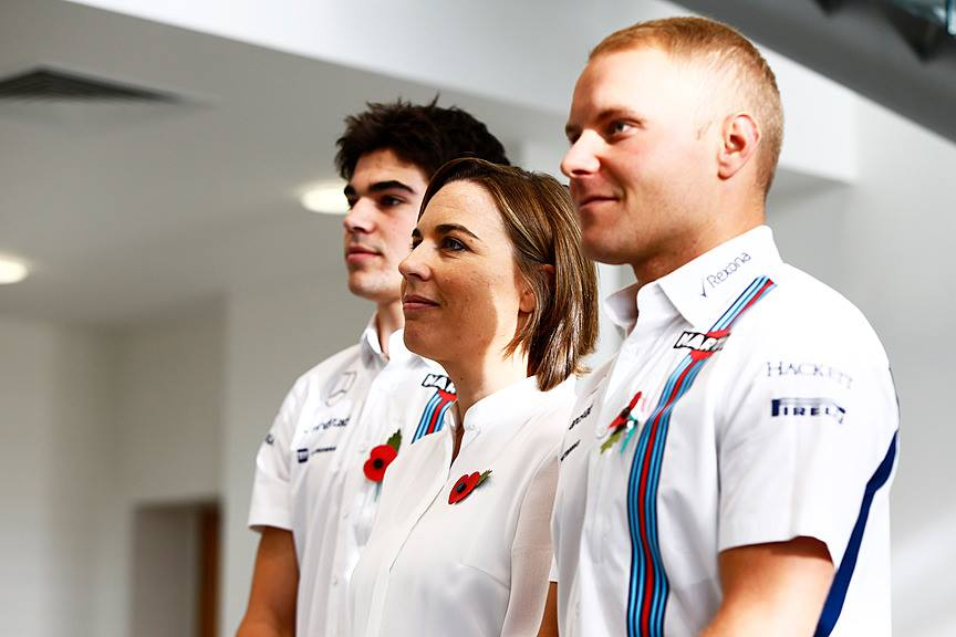 Watch the highlights of last week's @WilliamsRacing 2017 driver announcement #WeAreRacing @ValtteriBottas @Lance_Stroll
