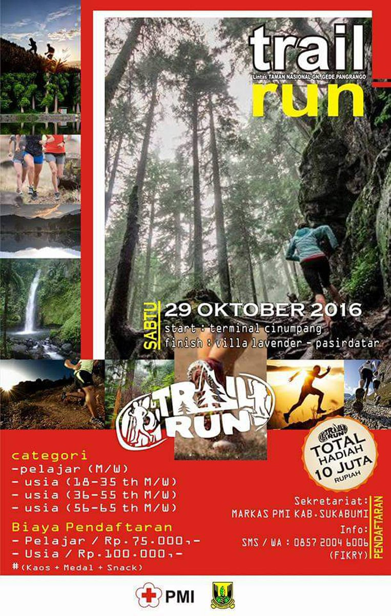 PMI Sukabumi Trail Run Cross Country 2016