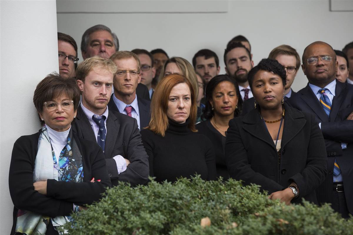 This photo of White House staff watching Obama today says so much https://t.co/ijYWWrOptP https://t.co/atoNw296bV