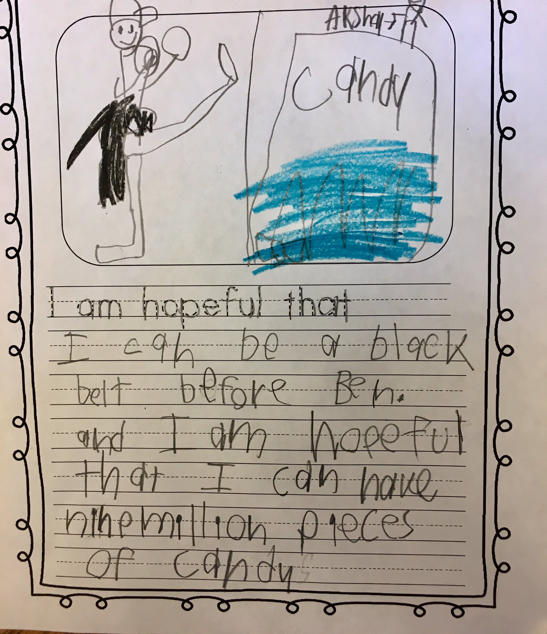 #ImTellingMyKids to be hopeful. Here's a great reminder of the important things in life. 🙂 #firstgrade #hopeful https://t.co/2M3ntYHsXs
