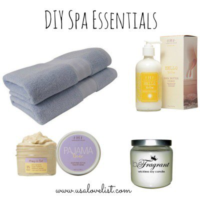 Six Spa Essentials for DIY Pampering GreenBeauty DIY