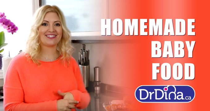 DIY (video) - Homemade BABY FOOD .. parenting nutrition diy