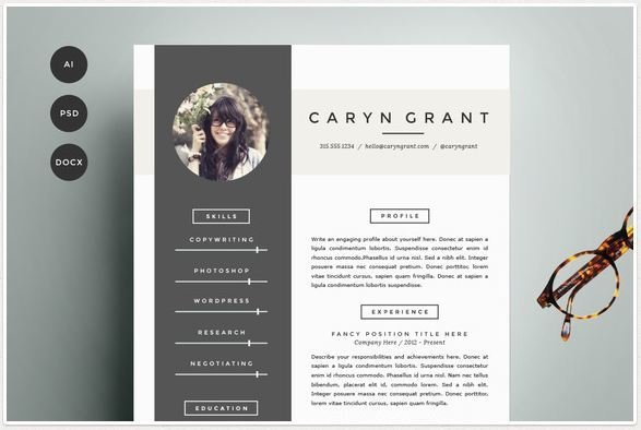 texty cafe on twitter resume templates for modern women and men