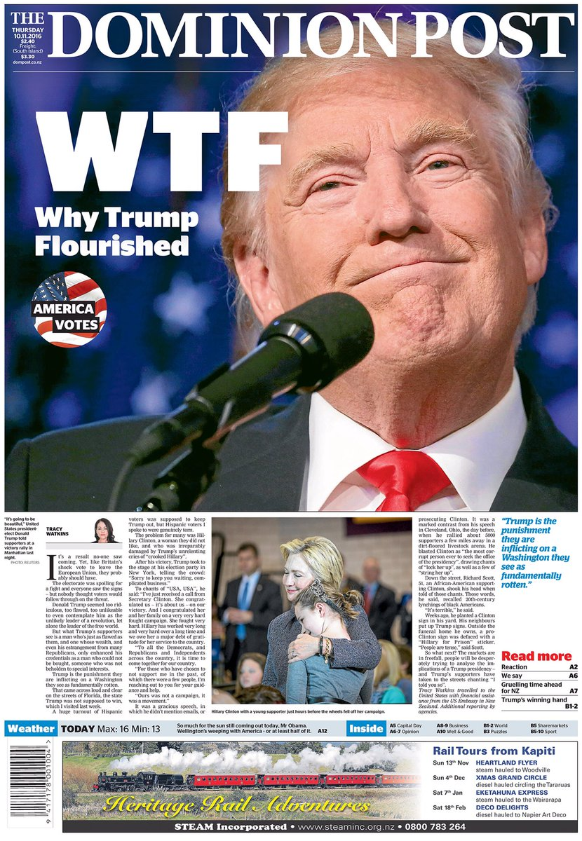 Our front page today. https://t.co/YGEMxfy5Tw