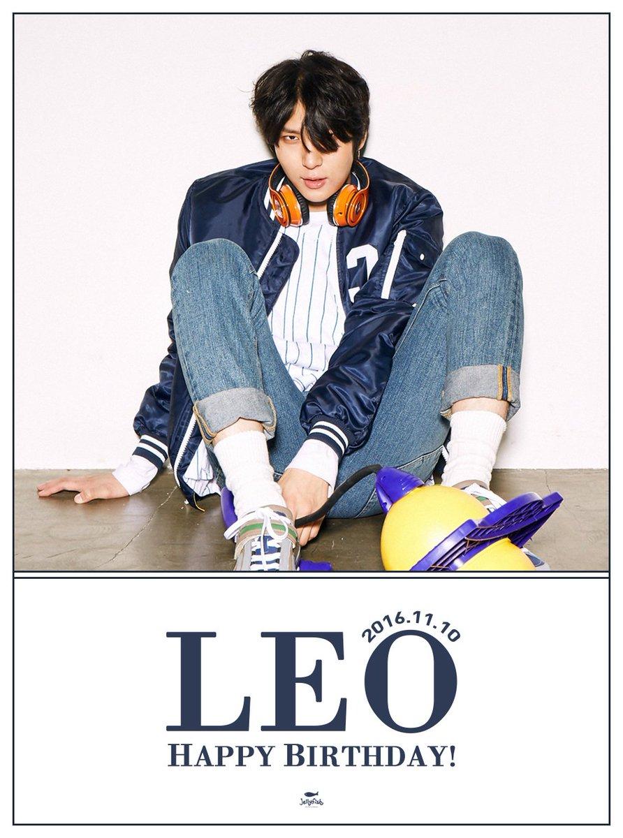 [#레오] 161110 #빅스 레오님의 생일을 진심으로 축하합니다! HAPPY BIRTHDAY TO #LEO #VIXX #HAPPYLEODAY https://t.co/HDuyVafk99
