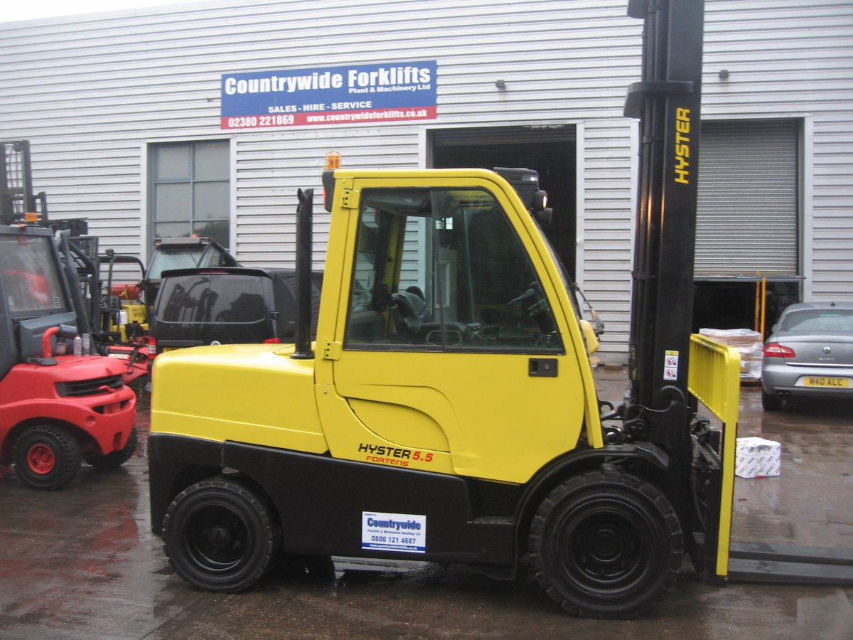 Countrywide Forklifts On Twitter For Sale Hyster 5 5 Tonne Diesel