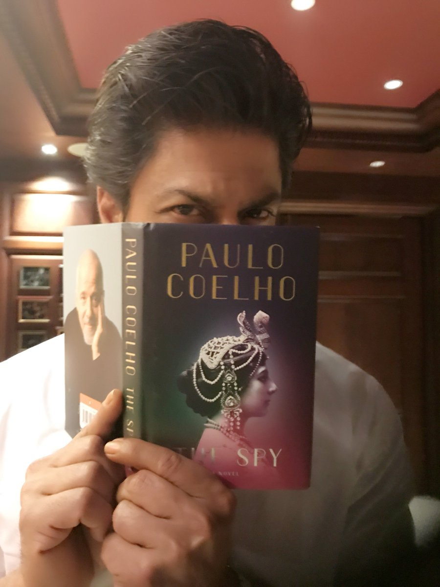 "Shah Rukh Khan on Twitter: ""@paulocoelho I know what I am doing ..."