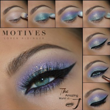 Your eyes will gleam with this holiday makeuplook - Details are here bbloggers makeup