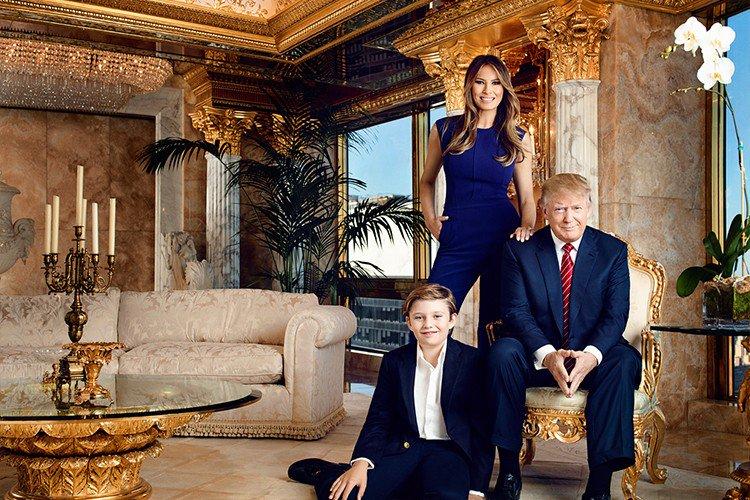 Ouro e mármore do piso ao teto: veja detalhes da cobertura da família Trump https://t.co/U4Nmyp6Avm https://t.co/Ghq4TDnHE3