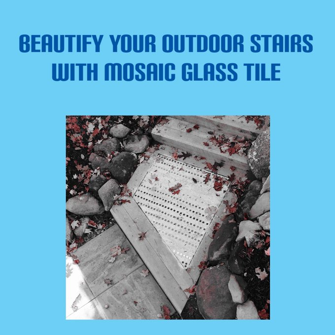 Wanna get creative in your landscape? tile DIY patio