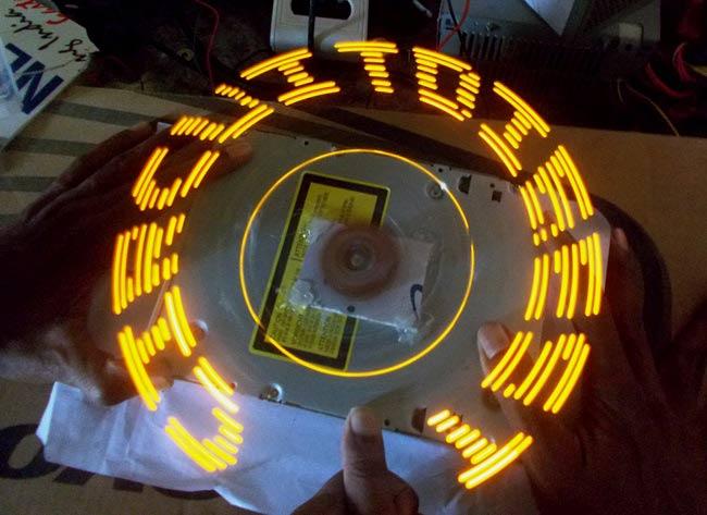 DIY Arduino Propeller LED Display: