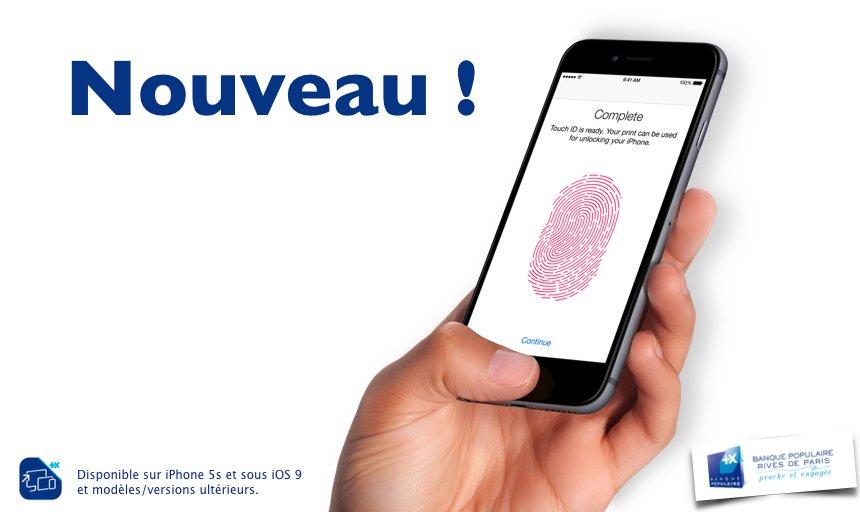 Bp Rives De Paris On Twitter Nouveau Accedez A Vos Comptes Avec