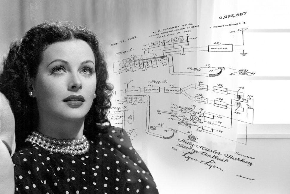 Happy birthday, Hedy Lamarr, actress & #inventor of spread-spectrum tech behind WiFi & GPS, born #OnThisDay in 1914  https://t.co/tdmHtquqkj