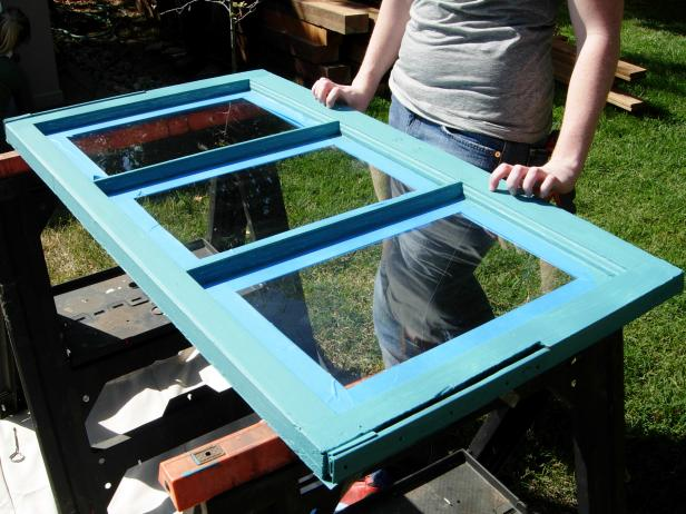 How would hanging windows look in your backyard? DIY
