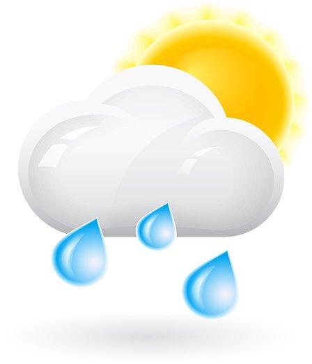 Afbeeldingsresultaat voor zonnetje en regen