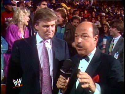 Image result for trump wrestlemania IV